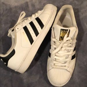 adidas Shoes - Adidas Superstars; size 9.5; women's